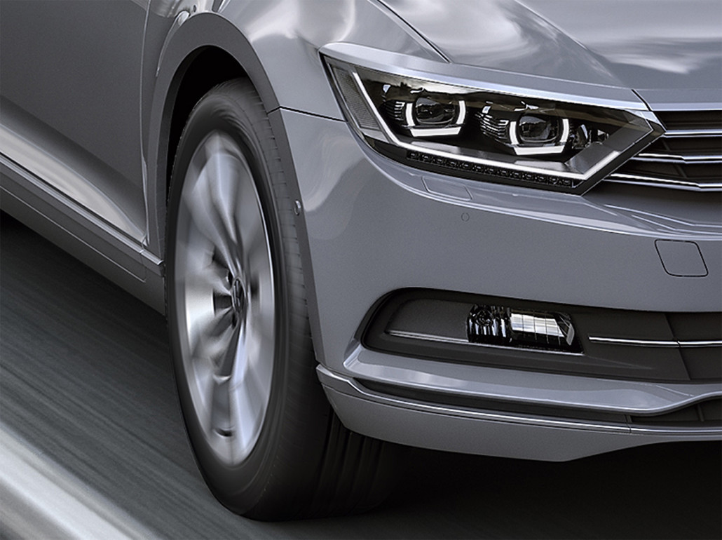 Volkswagen Passat 2015 | Grafik 3D Michał Szymański