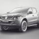 Mitsubishi L200 Double Cab 2015 - clay render