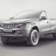 Mitsubishi L200 Single Cab 2015 - clay render