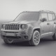 Jeep Renegade 2015 - wireframe render